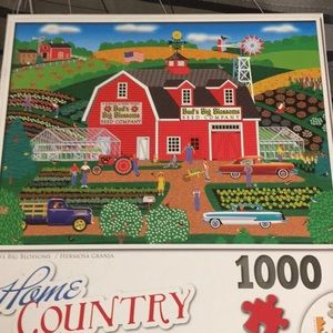 "Buds Big Blossoms 1000 pc 20X27"" puzzle"